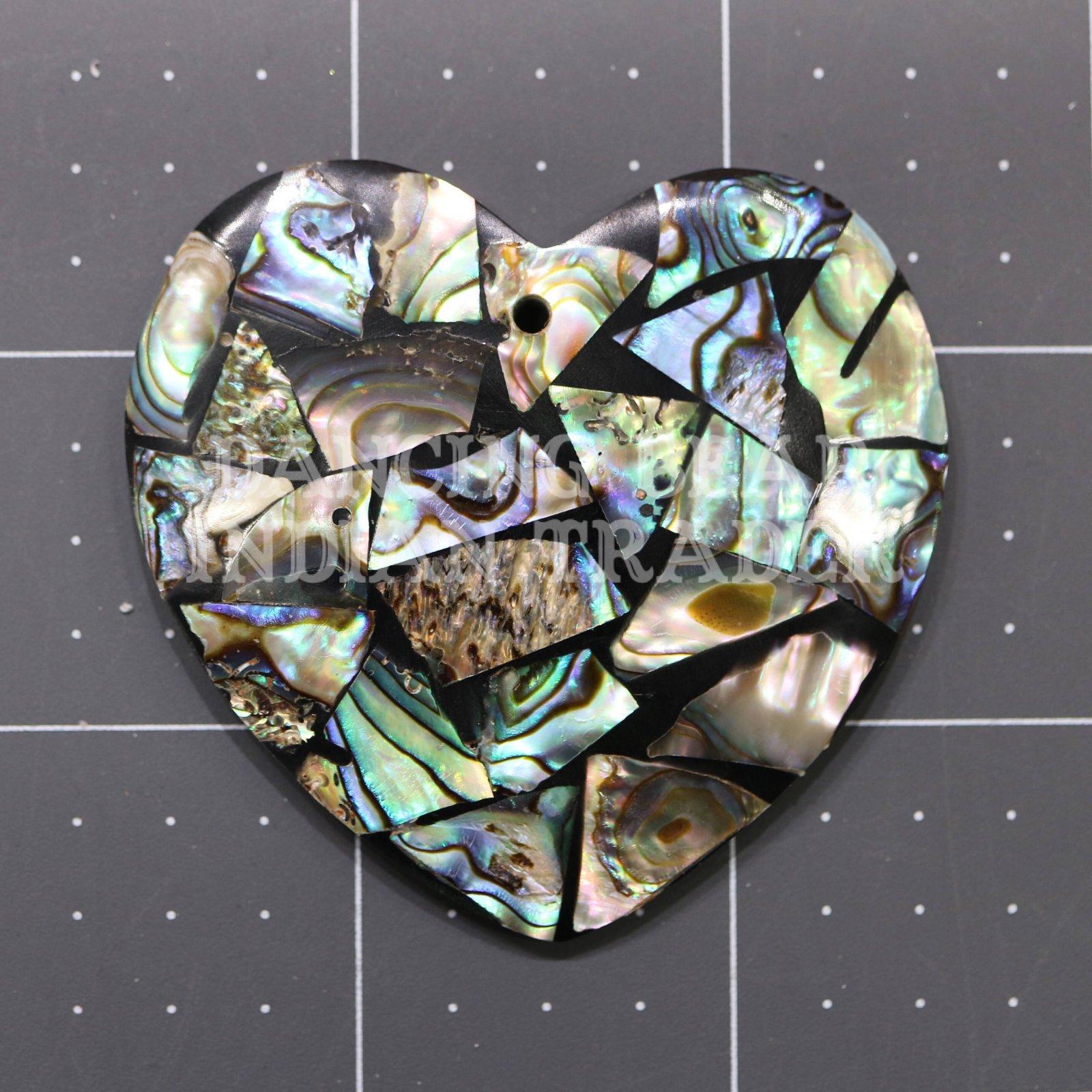 Abalone Mosaic Pendant Assorted Shapes