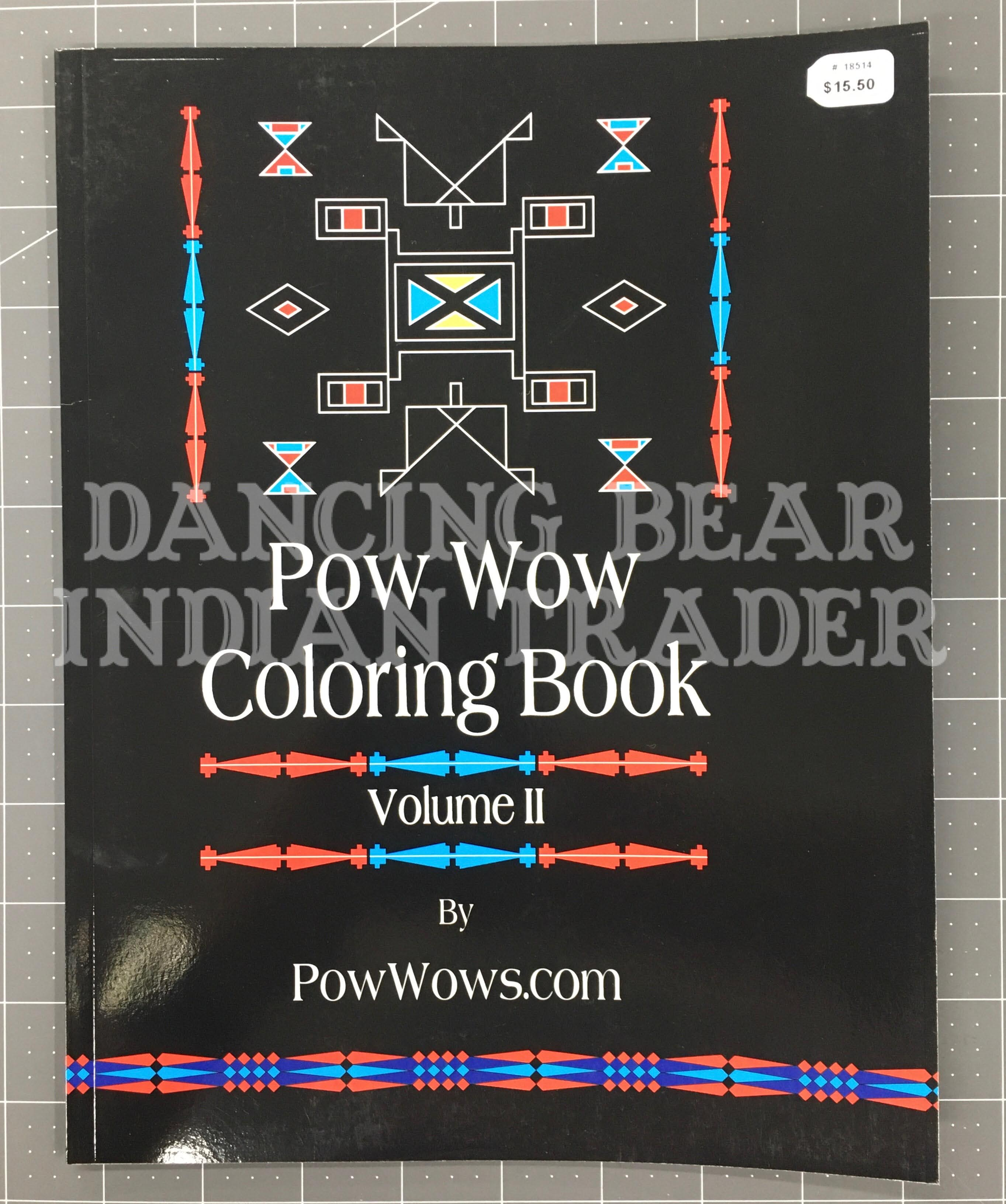 Pow Wow Coloring Book Volume 2