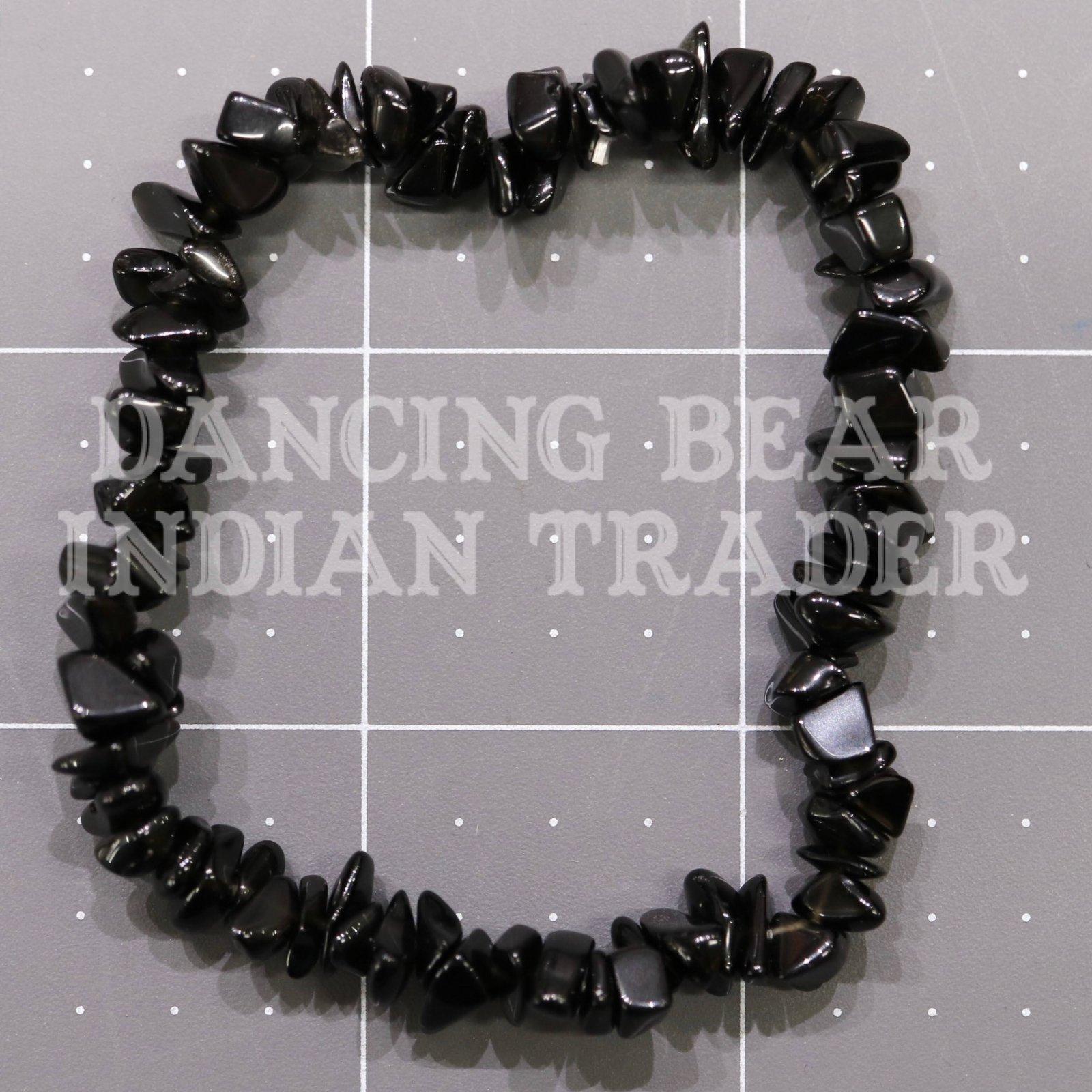 Black Onyx Chip Bracelet