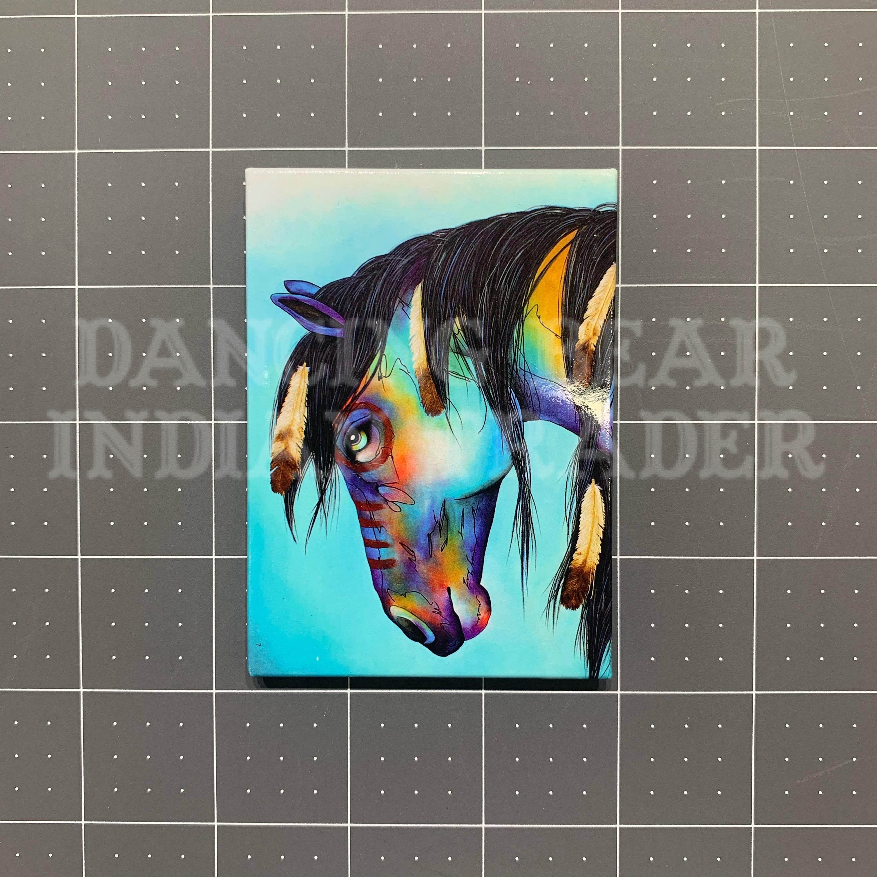 MGR31522 Horse  Magnet