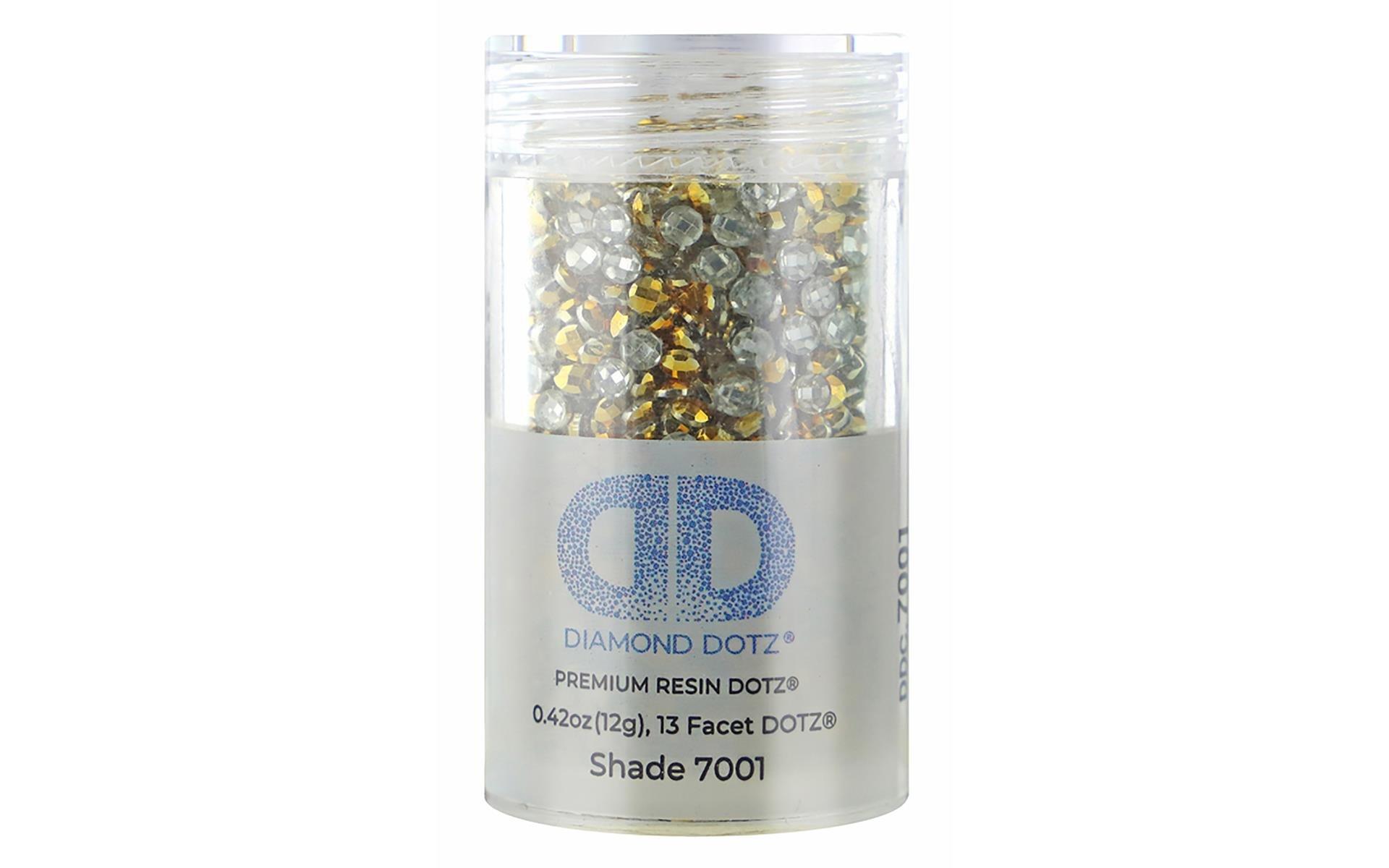 Diamond Dotz Freestyle Gems 2.8mm 12gm Metallic Red Gold