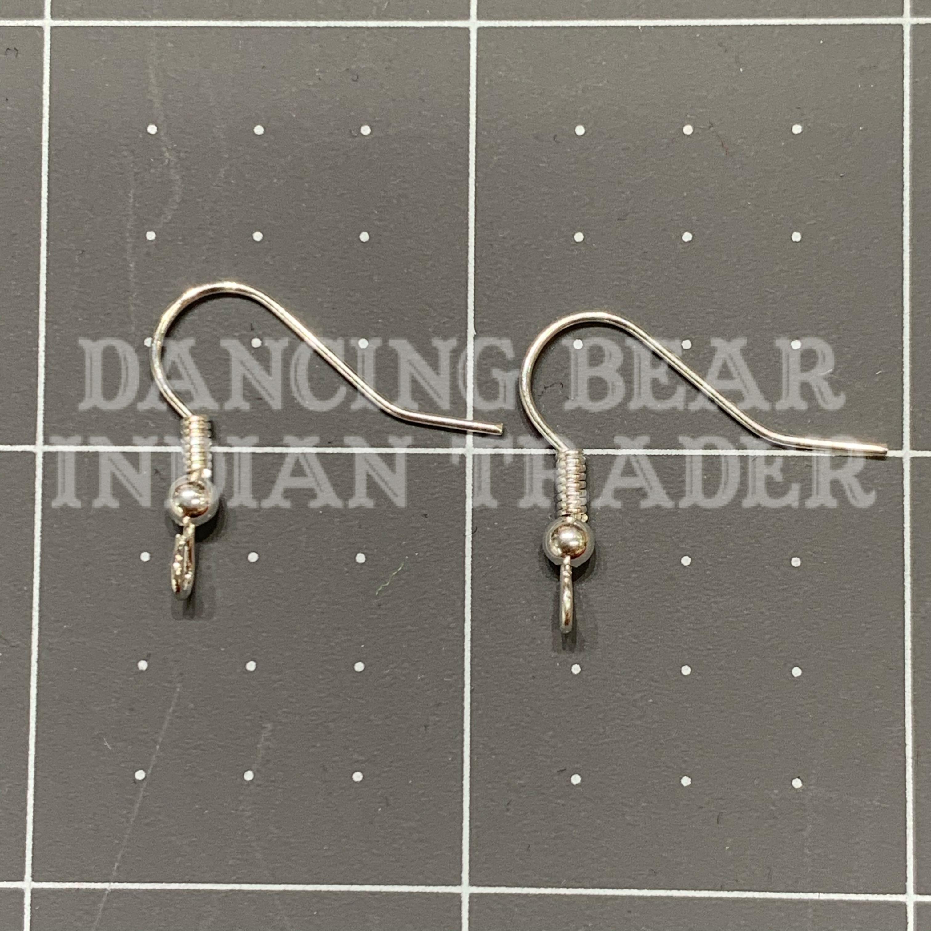 EW-S-144 Silver Earwire 144 pc, Hypo Allergenic-BULK DISCOUNTED