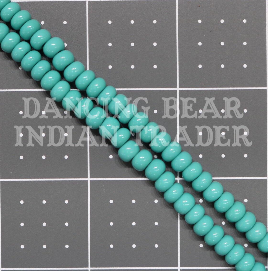 1/0-239OP Opaque Turquoise Green