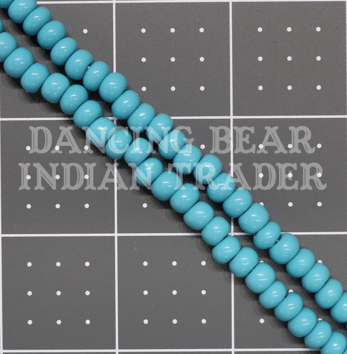 1/0-242OP Opaque Turquoise Blue