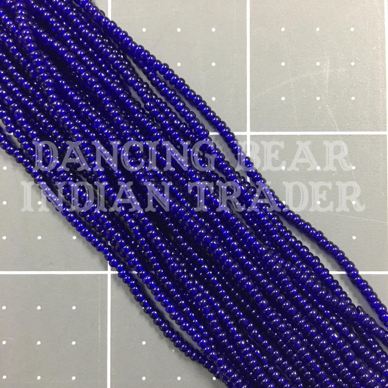 10/0-266TR Transparent Colbalt Blue