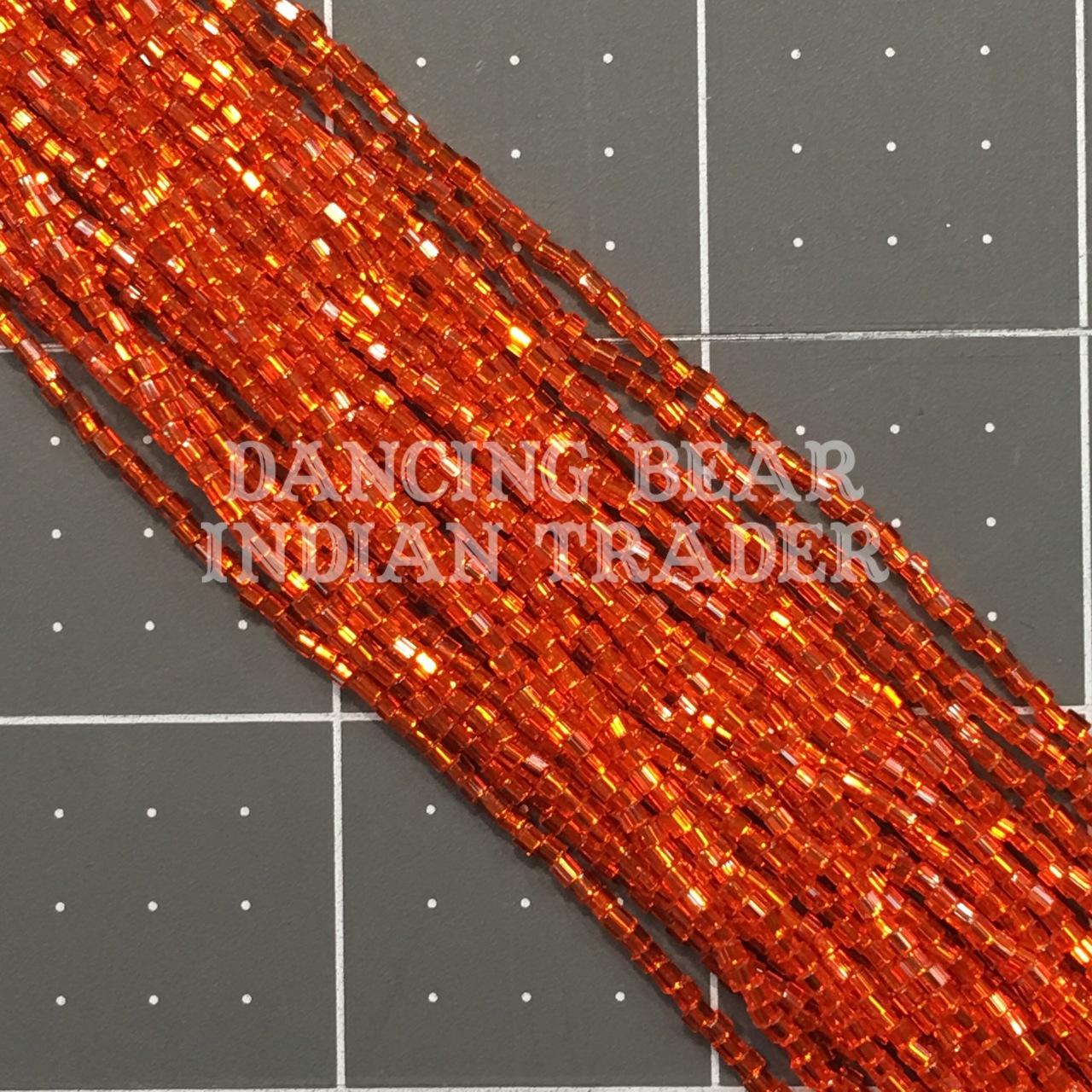 11/2-122SL Orange Silver Lined