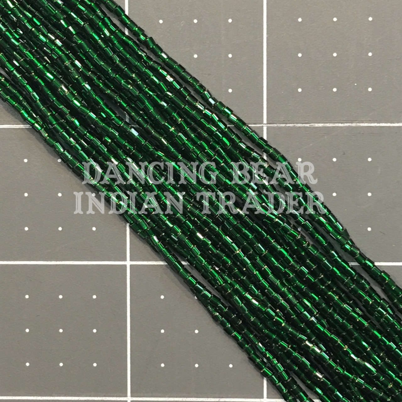 11/2-212SL Christmas Green Silver Lined