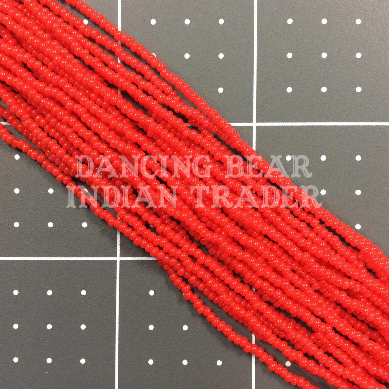 12/0-075OP Red Orange