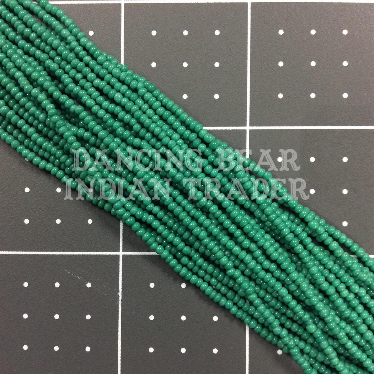 12/0-219OP Jade-Blue Green