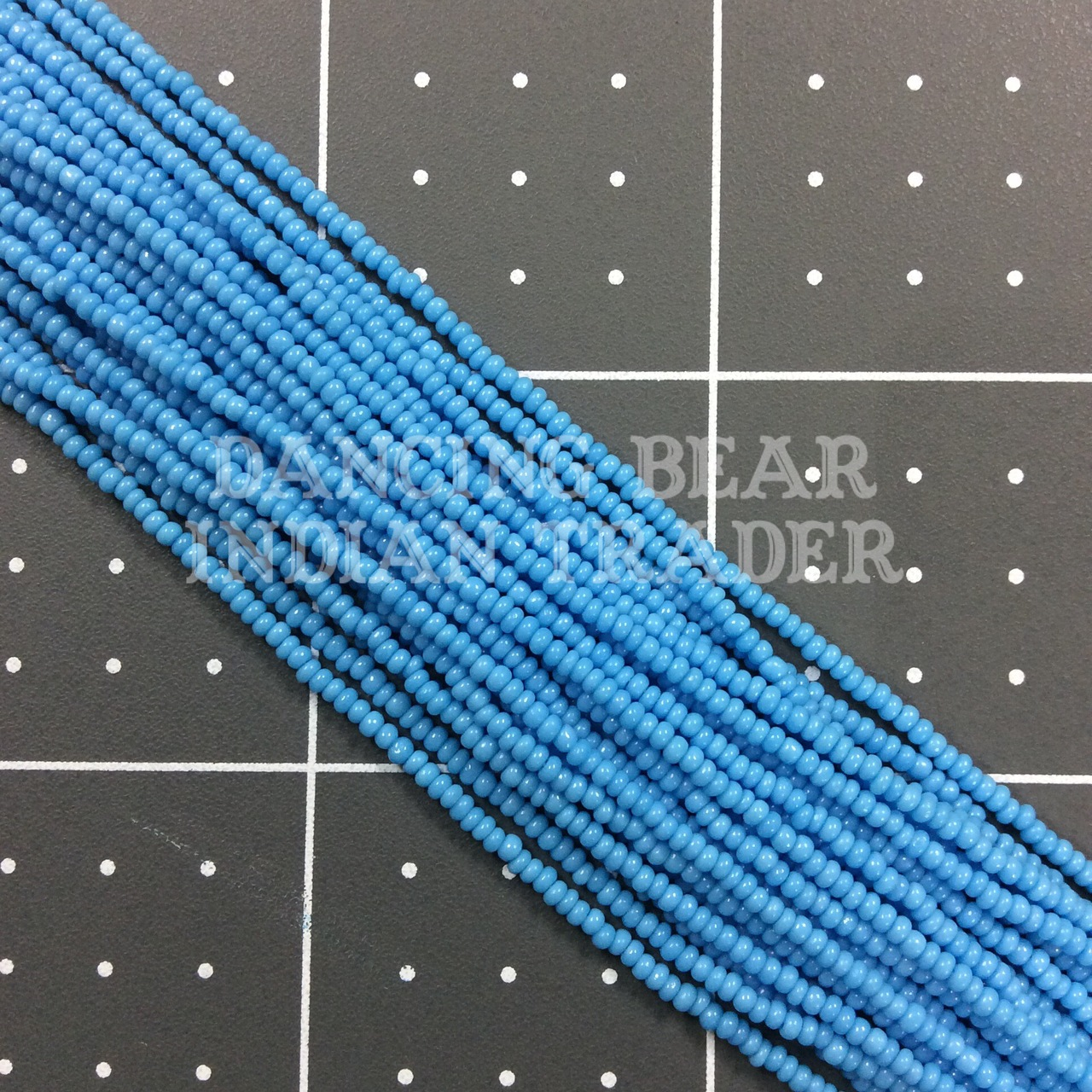 13/0-245OP Dark Turquoise Blue