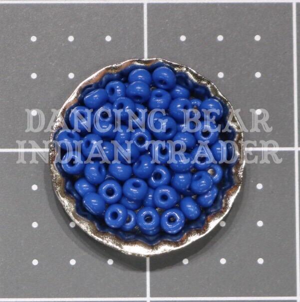 6/0-236OP Opaque Teal Blue