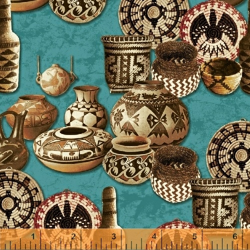 Adobe Baskets & Pottery Turquoise