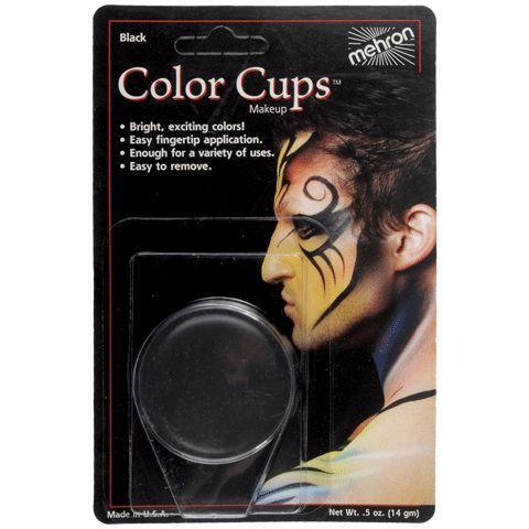Mehron Color Cup Black .5 oz