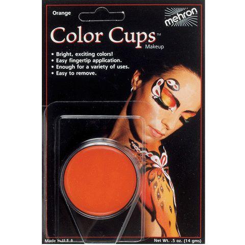 Mehron Color Cup Orange .5 oz