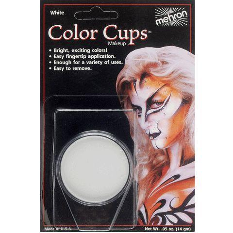 Mehron Color Cup White .5 oz