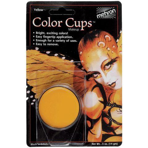 Mehron Color Cup Yellow .5 oz
