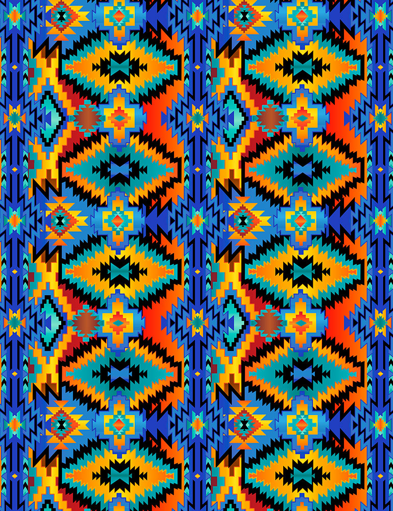 Colorful Southwest Blanket Brite