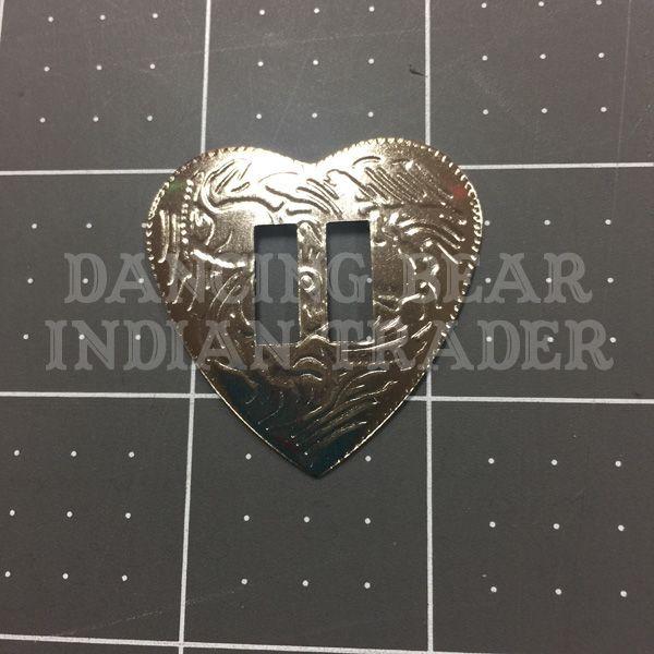 Concho Heart Nickel, 6pc