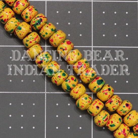 Crow Beads Tie Dye Yellow OP