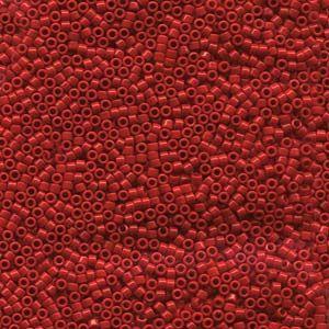 Delica DB723-50 11/0 Approx 50 gr. Opaque Dark Cranberry
