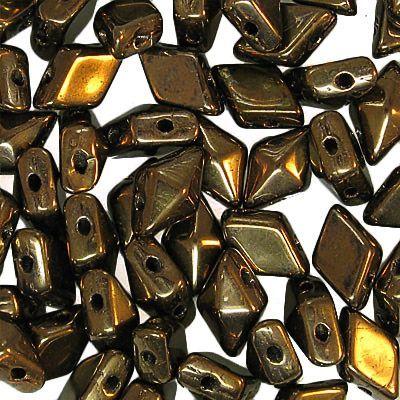 Diamonduo 2 hole Dark Bronze