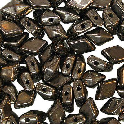 Diamonduo 2 hole Chocolate Bronze