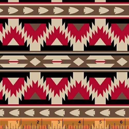 Four Winds Arrow Stripe Red