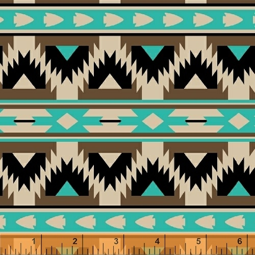 Four Winds Arrow Stripe Turquoise
