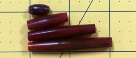 Hairpipe Horn Red .5 dz