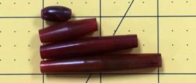 Hairpipe Horn Red 1.5 dozen