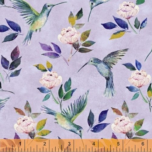 Hummingbird Romance Lilac