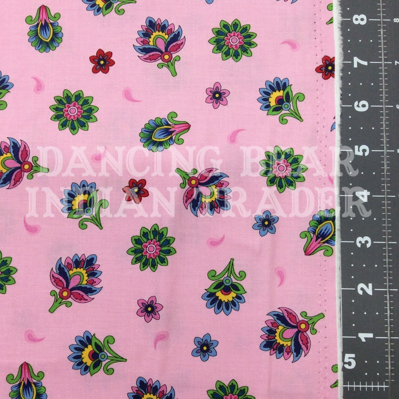 Imperial Paisley Tossed Pink