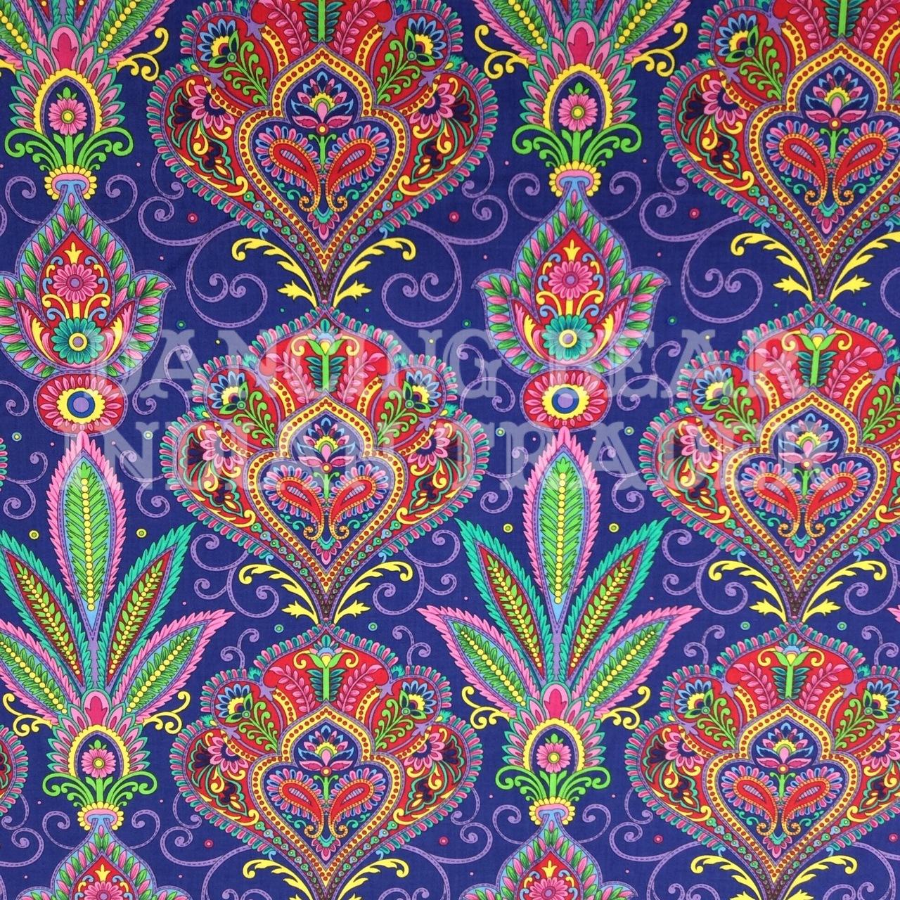 Imperial Paisley Royal Purple