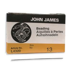Beading #13 Needle 25pk, John James