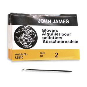 Glovers #2 Needle 25pk, John James