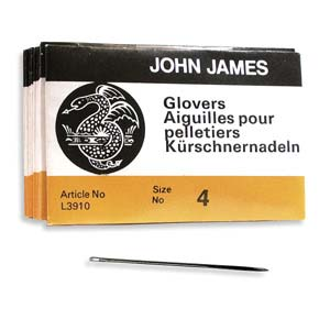 Glovers #4 Needle 25pk, John James