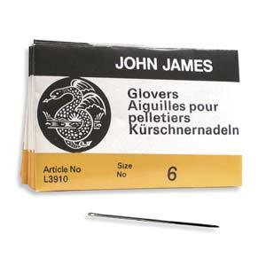 Glovers #6 Needle 25pk, John James