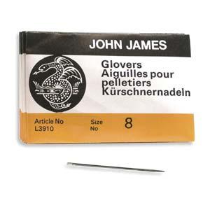 Glovers #8 Needle 25pk, John James