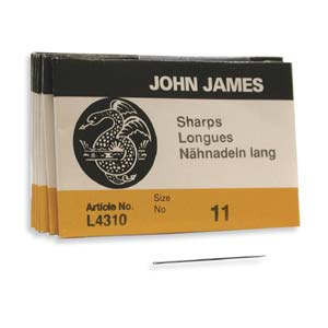 John James Sharps Needle Size 11 25pk
