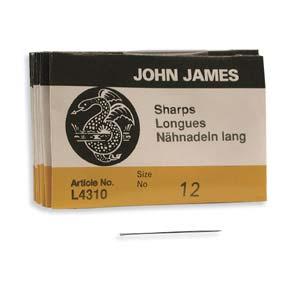 John James Sharps Needle Size 12 25pk