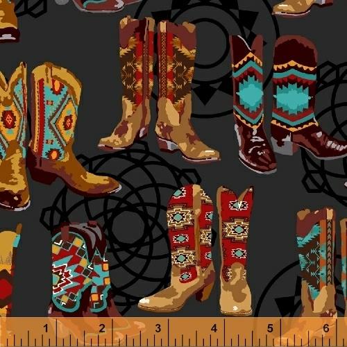 Mesa Cowboy Boots Black Bkg