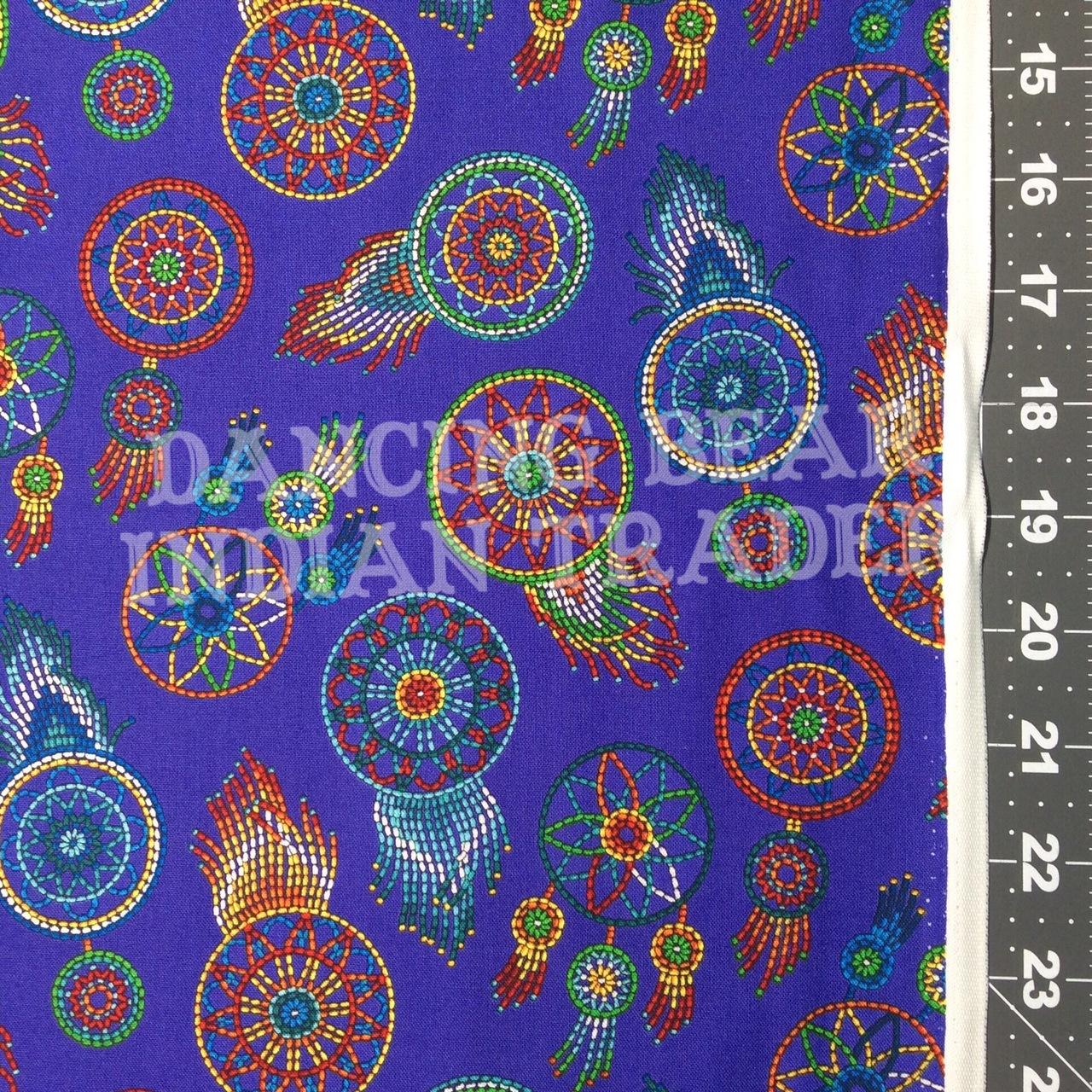 Native Pattern Beaded Dreamcatchers Purple