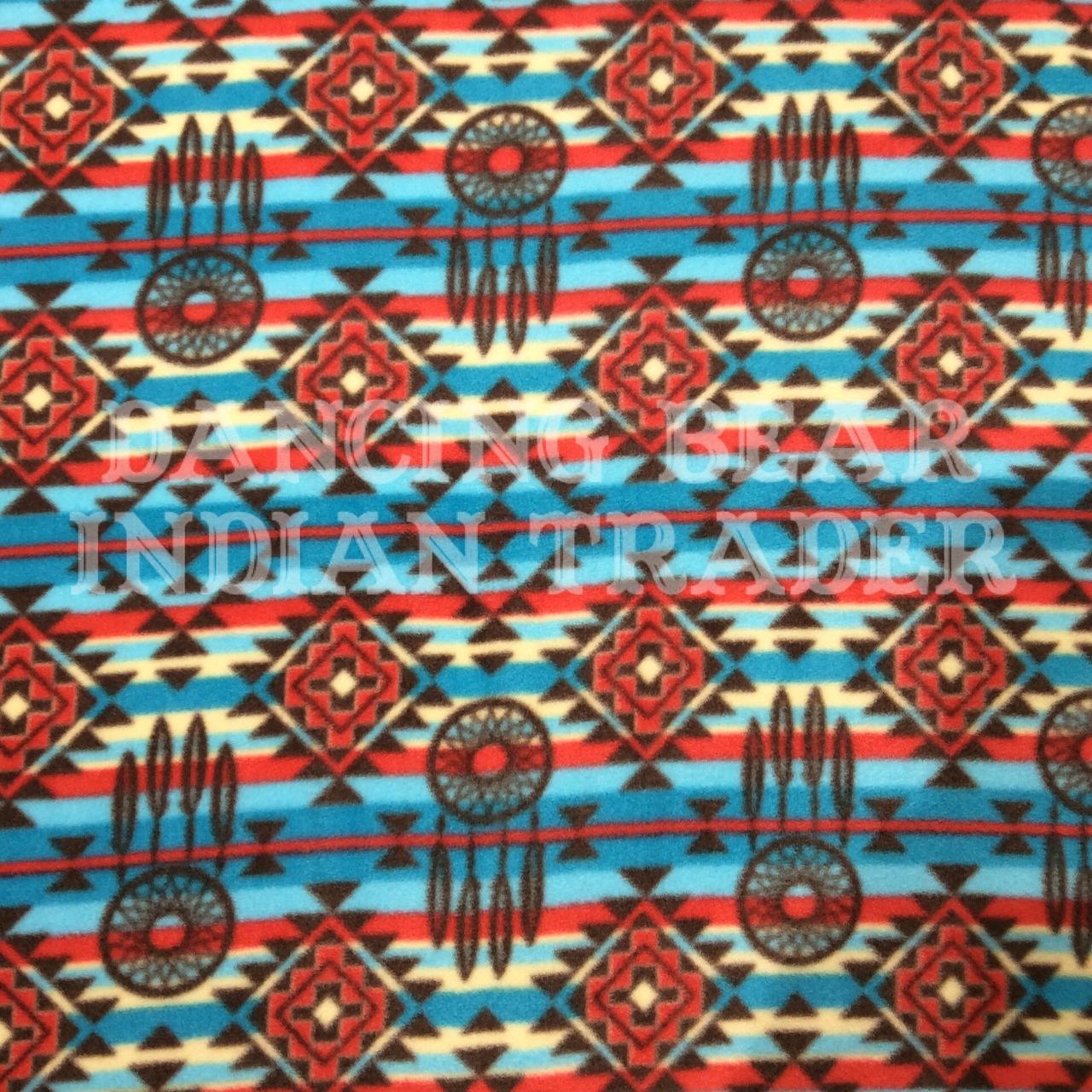 Native Spirit Dreamcatcher Stripe Fleece