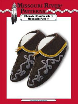 Pattern Cherokee/Southeastern Moccasins