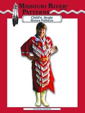 Pattern Childs Jingle Dress
