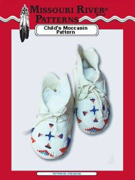 Pattern Childs Moccasins