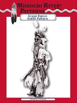 Pattern Men's Grass Dance Outfit