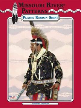 Pattern Mens Plains Ribbon Shirt