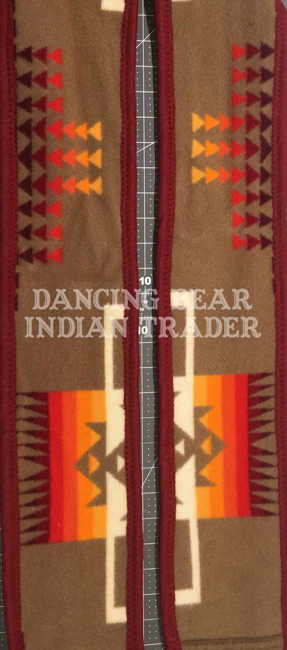 Pendleton Blanket Graduation Stole Tan