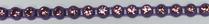26pp-ss13 Amethyst/Purple Bkg, 1 yard Rhinestone Banding